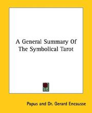 A General Summary Of The Symbolical Tarot PDF