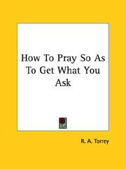 How To Pray So As To Get What You Ask PDF