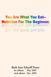 You are What you Eat PDF