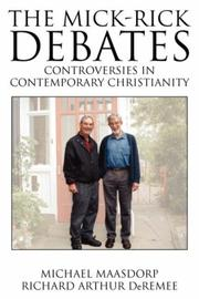 The Mick-Rick Debates Controversies in Contemporary Christianity PDF