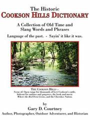 The Historic Cookson Hills Dictionary PDF
