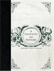 A footnote to history PDF