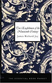 Ten Englishmen of the Nineteenth Century PDF