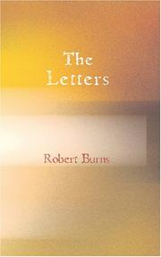The letters of Robert Burns by Robert Burns