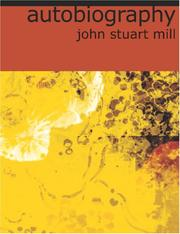 Cover of: Autobiography (Large Print Edition) by John Stuart Mill