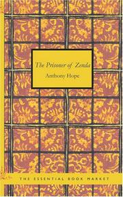 Cover of: The Prisoner of Zenda by Anthony Hope