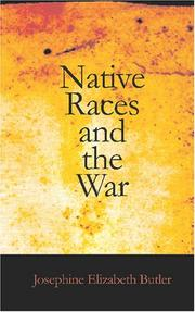 Native Races and the War PDF