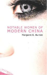 Notable Women of Modern China PDF