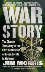 Cover of: War Story by Jim Morris