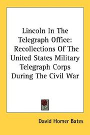 Lincoln In The Telegraph Office PDF