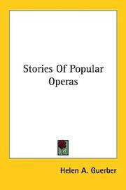 Stories Of Popular Operas PDF