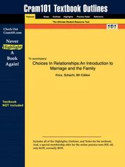 Choices In Relationships PDF