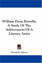 William Dean Howells by Alexander Harvey