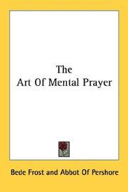 The art of mental prayer PDF