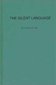 The silent language by Edward Twitchell Hall