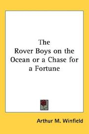 The Rover Boys on the Ocean or a Chase for a Fortune PDF