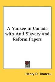 A Yankee in Canada with Anti Slavery and Reform Papers PDF