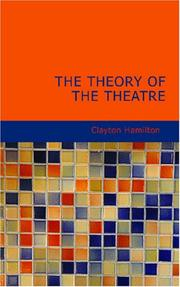 The Theory of the Theatre PDF