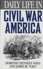Daily life in Civil War America PDF