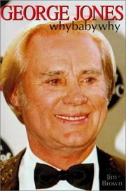 George Jones by Brown, Jim., Jim Brown