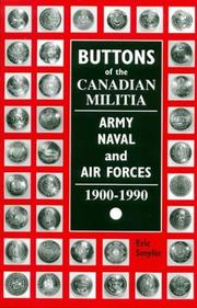 Buttons of the Canadian militia, Army, Naval and Air Forces, 1900-1990 PDF