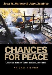 Chances for peace by Sean M. Maloney
