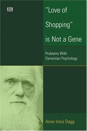 Love Of Shopping Is Not A Gene PDF