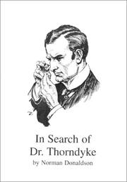 In Search of Dr Thorndyke by Donaldson