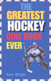 The greatest hockey quiz book ever PDF