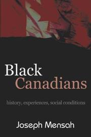Black Canadians by Joseph Mensah