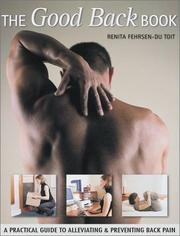 The Good Back Book by Renita Fehrsen-Du Toit