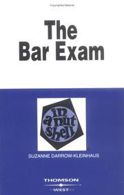 The bar exam in a nutshell PDF