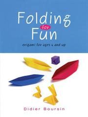 Cover of: Folding for Fun by Didier Boursin