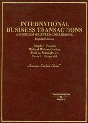 International business transactions PDF