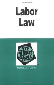 Labor law in a nutshell PDF