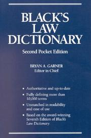 Law dictionary by Henry Campbell Black