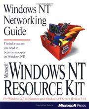 Microsoft Windows NT resource kit : for Widows NT workstation and Windows NT server version 3.5
