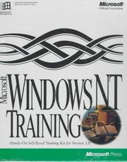 Microsoft Windows NT training : hands-on self-paced training kit for version 3.5