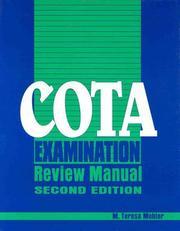 COTA examination review manual PDF