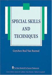 Special skills and techniques PDF