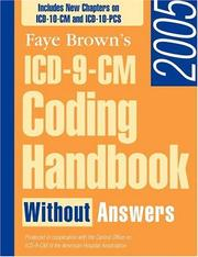 ICD-9-CM Coding Handbook 2005, without Answers by Faye Brown