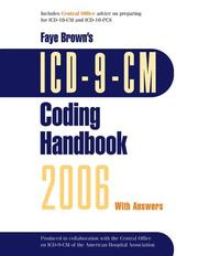 ICD-9-CM Coding Handbook 2006, with Answers by Faye Brown