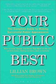 Cover of: Your Public Best by Lillian Brown