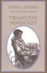 The rape of Florida, or, Twasinta's Seminoles PDF