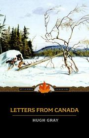 Letters from Canada by Hugh Gray