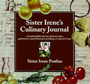 Sister Irene's culinary journal by Irene Psathas