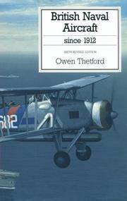 British naval aircraft since 1912 PDF