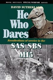 He who dares by Sutherland, David
