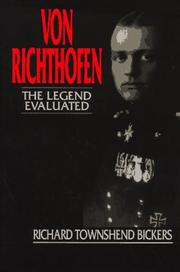 Von Richthofen by Richard Townshend Bickers