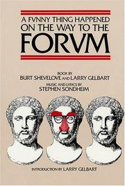 Funny thing happened on the way to the forum by Stephen Sondheim